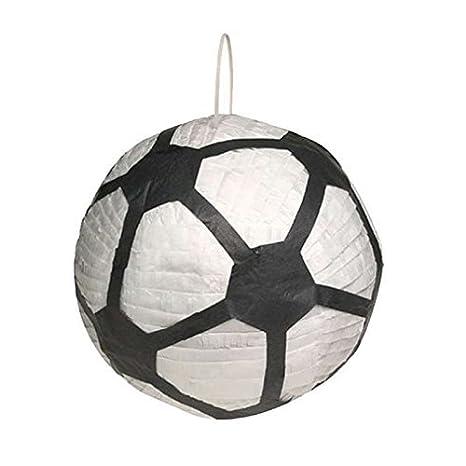 Piñata de balón de fútbol de 30 cm, se vende sin bastón: Amazon.es ...