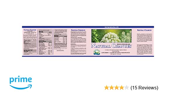 Amazon.com: Natures Sunshine Natural Changes, 21 Day | Menopause Supplements Provide Health-Balancing Nutrients Needed by the Maturing Female Body: Health ...