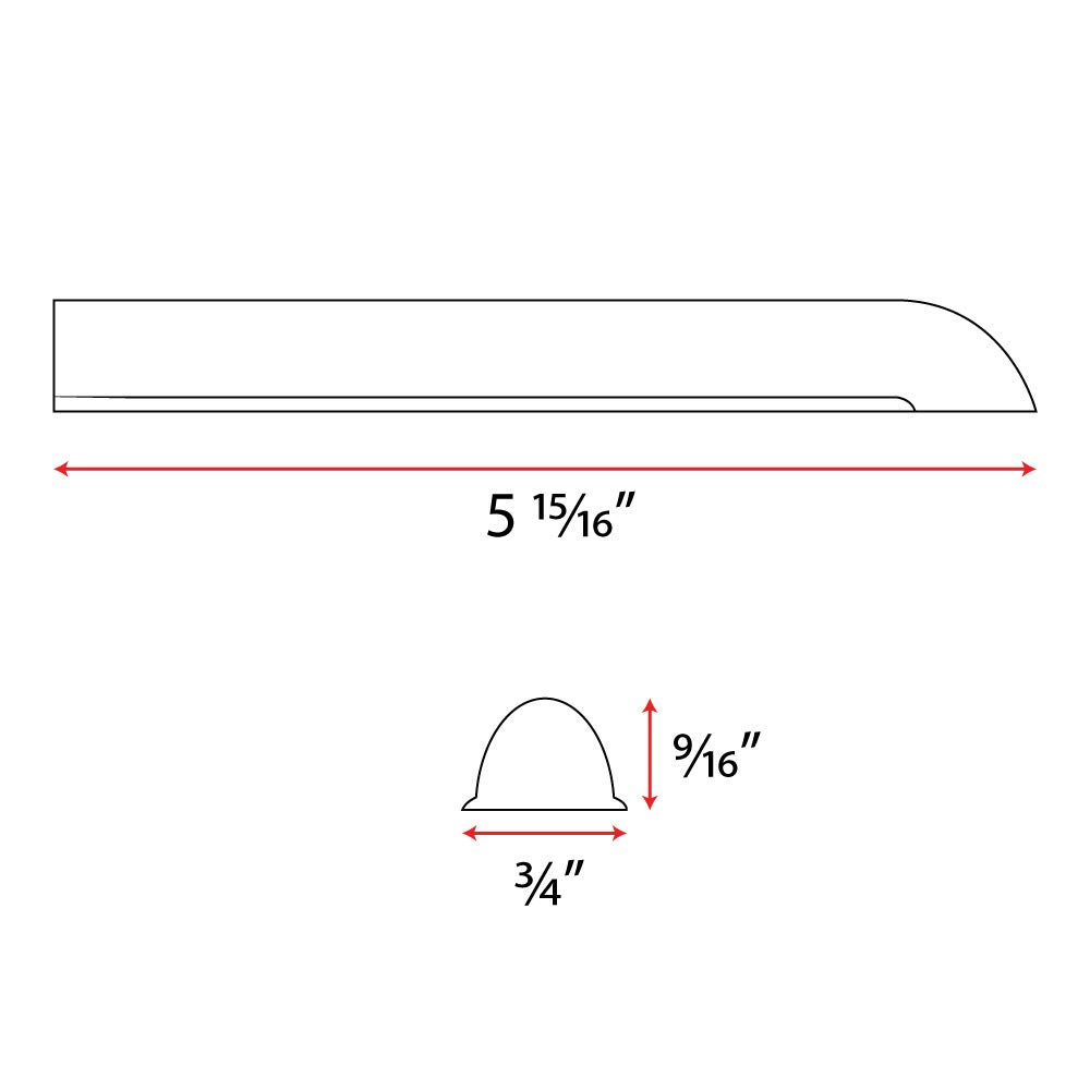 Shower Rods Drip Guard for Bathtubs by Shower Rods