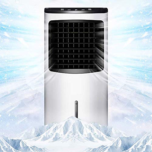 Desktop Fan Home Fan Mobile Air Conditioners Air Cooler Air Conditioner Fan Evaporative Humidifier Air Purifier Air Freshener Household Single Cold Small-scale Remote Control Timing Table Desk Fan for by Gelaiken (Image #2)