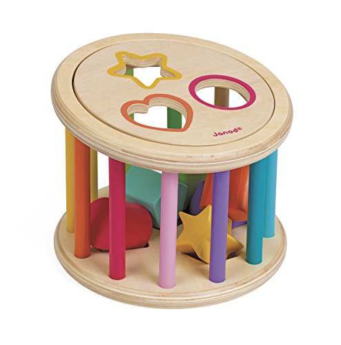 Janod - J05336 - Quizz des Formes I wood