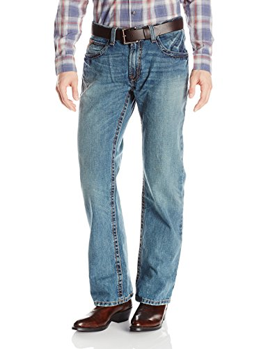 Ariat Men's M4 Low Rise Boot Cut Jean, Scoundrel, 40x34