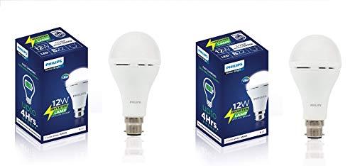 PHILIPS 12 Watts b22d LED Cool Day Light Bulb, Pack 2, White (929002441513_2)