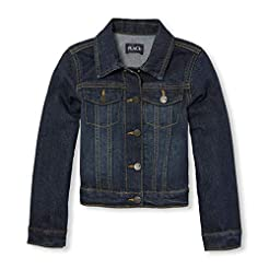 The Children's Place Girls' Denim Jacket...
