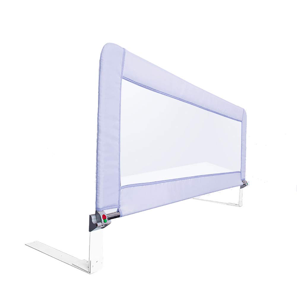 ベッドフェンス- 70cmの高さの安全なベッドレールガード折り畳み式幼児用エクストラロング、クイーン&キングサイズベッド用ポータブルベビーガードレール、(1辺) (色 : Gray, サイズ さいず : 200cm) 200cm Gray B07JQNS9W3