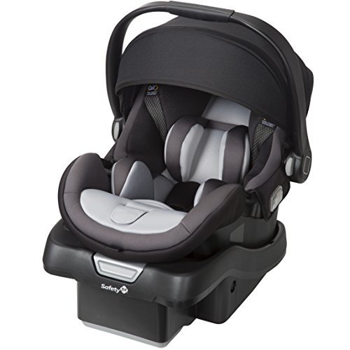 Safety 1st onBoard 35 Air 360 Infant Car Seat (Raven HX) (Best Rated Strollers 2019)