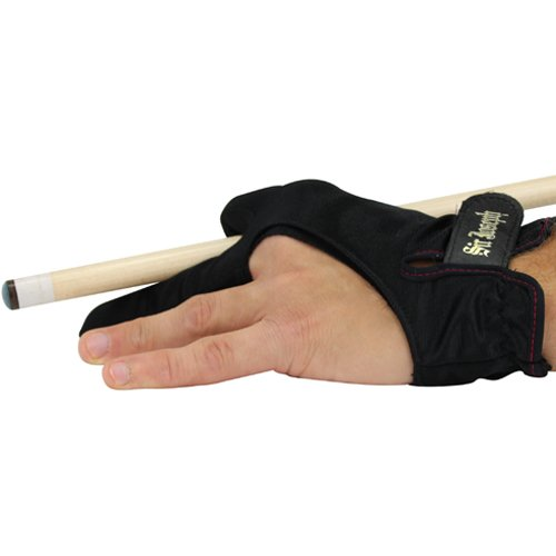 Sir Joseph Adjustable Black Billiard Glove - Medium