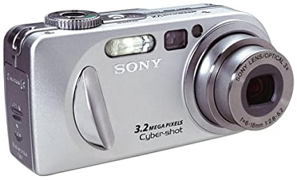 amazon com sony dscp8 cyber shot 3 2mp digital camera w 3x rh amazon com Sony Cyber-shot DSC-R1 Sony Cyber-shot DSC-H10
