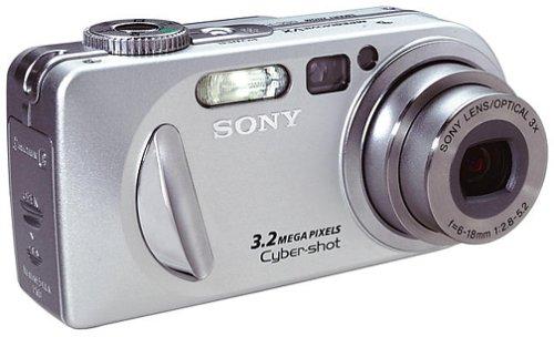 Sony DSCP8 Cyber-shot 3.2MP Digital Camera w/ 3x Optical Zoom