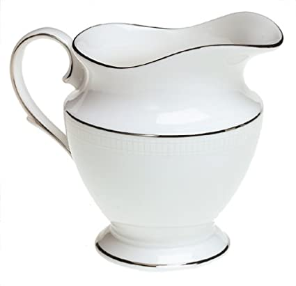 Lenox Tribeca Platinum-Banded Bone China Lidded Sugar Bowl 6229520