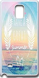 Dseason Samsung galaxy note 4 case,Fashion printing series,High quality hard plastic material havea great summer by Maris's Diary