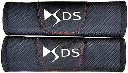 Lxzy 2 St/ück Gurtpolster Auto f/ür Citroen DS DS4 DS4S DS5 DS6 DS7 DS5LS DS3,Stickerei Car-Logo Sicherheitsgurt Schulterpolster Auto-Styling Innere Zubeh/ör