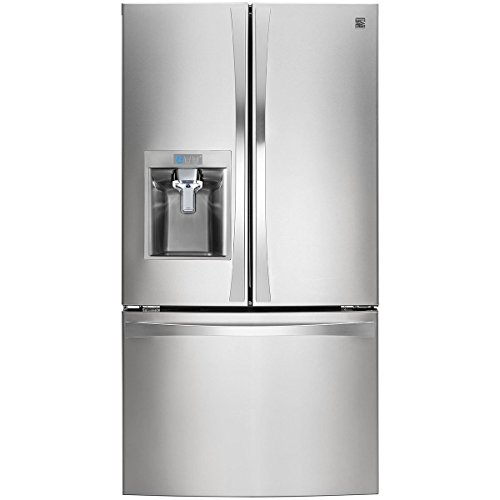 elite 74023 29.8 cu. ft. french door bottom-freezer refriger