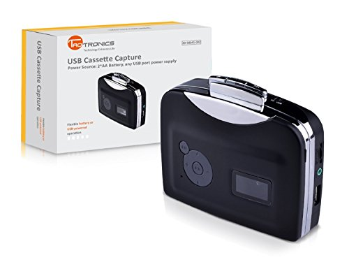 Tiangtech® Portable Cassette to MP3 Converter - New 2015 Model, with No PC Required