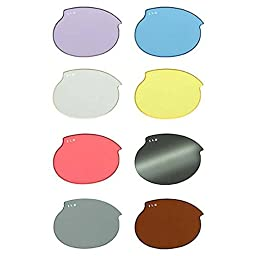 ILS Replacement Lenses Size: Medium, Color: Mirror Smoke