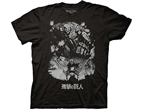 Ripple Junction Attack on Titan Season 2 Reiner Braun - Titan Form Adult T-Shirt Medium (Monster High Clothes For Adults)
