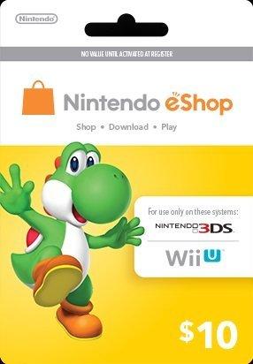 Nintendo Yoshi Prepaid eShop $10 for 3DS or Wii U by Nintendo by Nintendo
