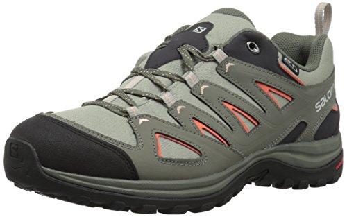 (Salomon Women's Ellipse 3 CS Waterproof USA Hiking Shoe, Shadow, 5.5 M US)