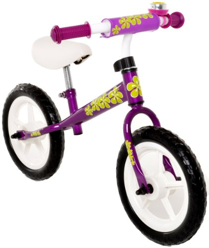 Vilano No Pedal Push Balance Bicycle for Children, Purple
