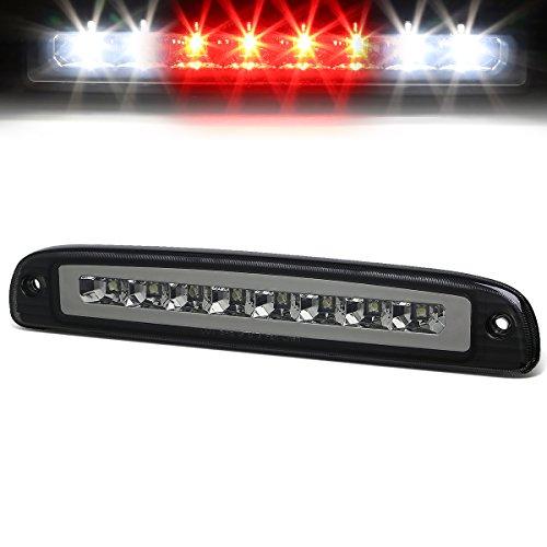 (For Dodge Dakota High Mount Dual Row LED 3rd Brake/Cargo Light (Smoke Lens))