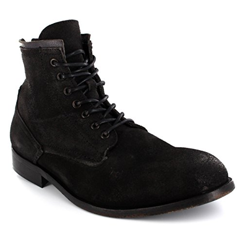 Mens H By Hudson Railton Lace Up Suede Army Ankle High Smart Boots Shoes Brown tZqnAGO5NQ