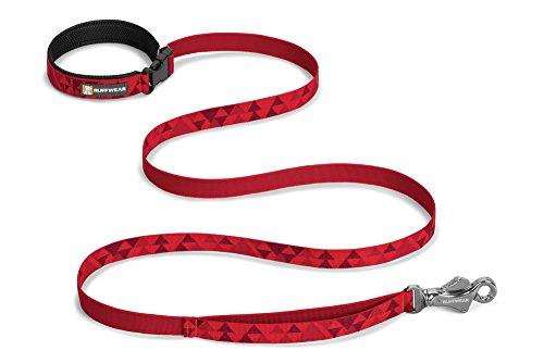 RUFFWEAR - Flat Out Hand-Held or Waist-Worn Dog Leash, Red Butte by RUFFWEAR