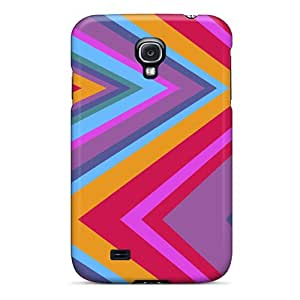 Cute Appearance Cover/tpu Zigzag Case For Galaxy S4