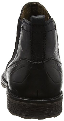 Bugatti Herren 311386334000 Chelsea Boots Schwarz (Schwarz)