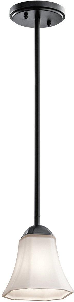 Kichler 43634BK One Light Mini Pendant