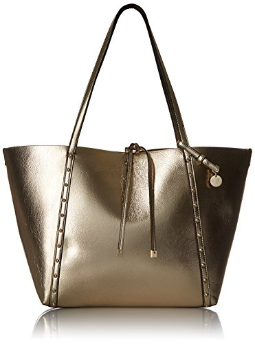 A|X Armani Exchange Metallic Medium Tote