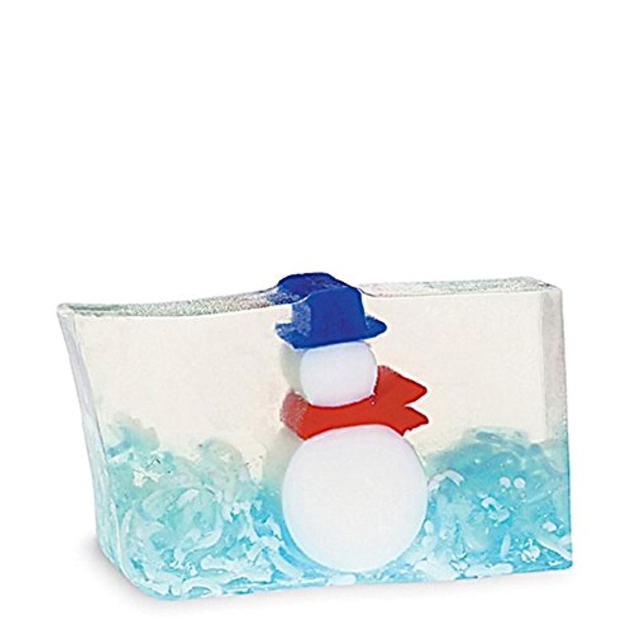 ベッド測るに賛成原初の要素雪だるま石鹸170グラム x2 - Primal Elements Snowman Soap 170g (Pack of 2) [並行輸入品]