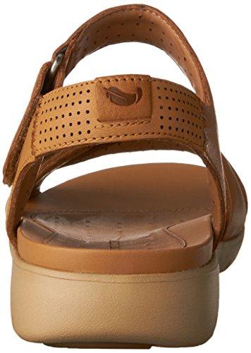 Light Size Saffron Womens Un Leather Tan Clarks 9 Sandal Walking XqZFxg8wC