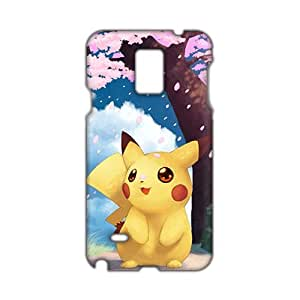 Angl 3D Case Cover Cartoon Pokemon Pikachu Phone Case for Samsung Galaxy Note4
