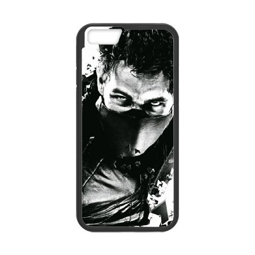 Syndicate 2 Game coque iPhone 6 4.7 Inch cellulaire cas coque de téléphone cas téléphone cellulaire noir couvercle EEECBCAAN08816