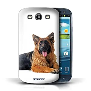 STUFF4 Phone Case / Cover for Samsung Galaxy S3/SIII / German Shepherd Design / Dog Breeds Collection