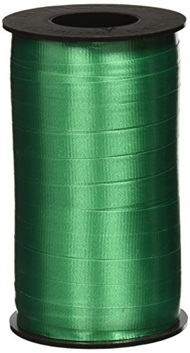 Berwick 3/8-Inch Wide by 250 Yard Spool Super Curl Crimped Splendorette Curling Ribbon, Emerald