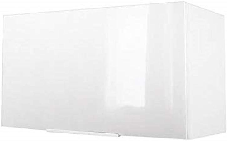 Berlenus CH6HB - Mueble de Cocina sobre Campana extractora (60 x 34 x 35 cm), Alto Brillo, Color Blanco: Amazon.es: Hogar