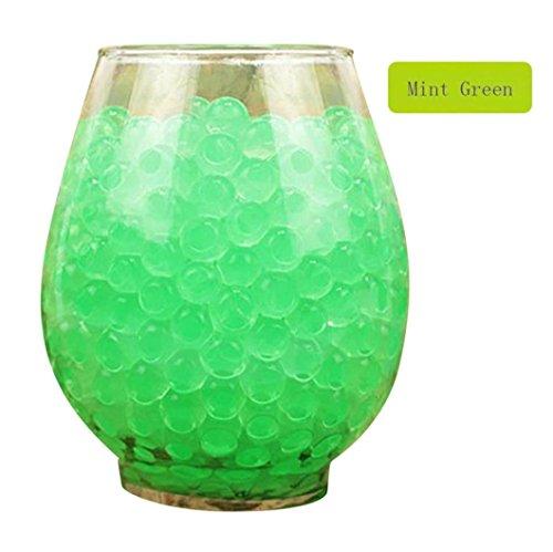 Lavany® 3000 PCS Water Bullet Balls Water Beads Mud Grow Magic Jelly Balls ,Home Wedding Decorative (Mint -