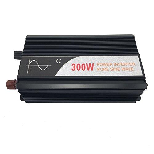 Xijia 300W (Peak 600W) Pure Sine Wave power Inverter DC 12V 24V 48V to AC 120V 50HZ Solar converter For Home Use car (DC 48V to AC 120V)