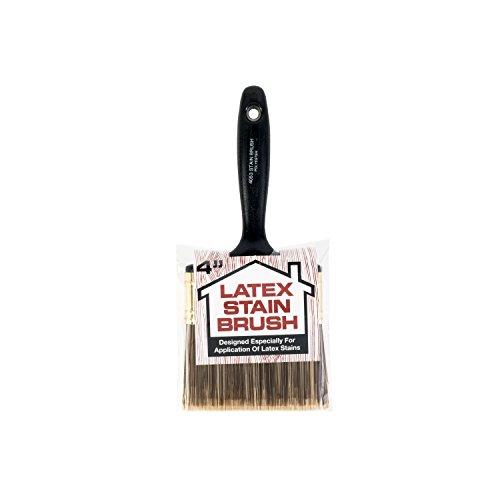 Wooster Brush 4053-4 Latex Stain Brush, 4-Inch