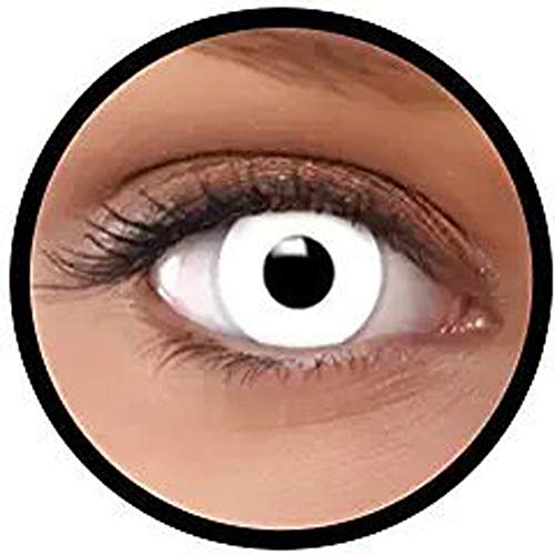Women Multi-Color Cute Charm and Attractive Fashion Contact Lenses Cosmetic Makeup Eye Shadow Zombie by Dream TM