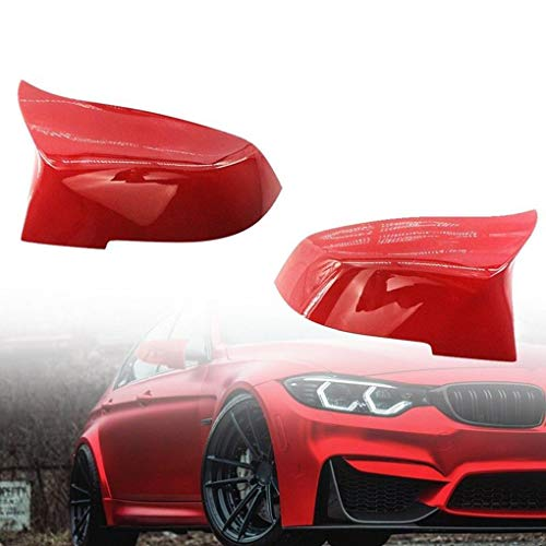 Topker 1 Pair Right Left Side Automobile Rearview Mirror Cover Replacement for F30 13-18 51167292745 51167292746 by Topker (Image #8)