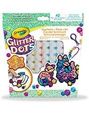 Crayola 040800 Glitter Dots Keychains