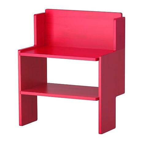 IKEA PS 2012 - Banco con almacenamiento de calzado, rojo ...