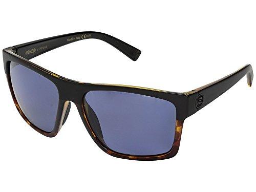 VonZipper Unisex Dipstick Polar Black Hardline Tortoise/Wild Slate Grey Polar - Sunglasses Polar Glare
