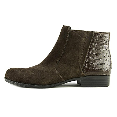 Almond Suede Ankle Fashion Toe Brown Leather Jump Boots Womens Naturalizer znHqpPSn