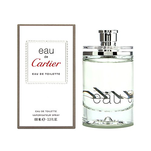 Eau De Cartier By Cartier For Women. Eau De Toilette Spray 3.3 Oz (De Cartier Spray Parfum Eau)