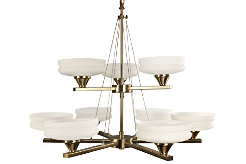 Montreal 5 Light Chandeliers (Ulextra Traditional and Modern Chandelier Pendant Lighting for Dining Room, Living Room, Kitchen, Study (8 styles) (SATIN CHROME-155))