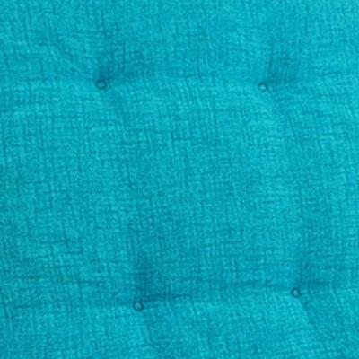 und wasserabweisendes Sitzkissen /& R/ückenkissen gepolsterte Gartenstuhlauflage mit Gummiband Menge:6er Set Farbe:T/ürkis Hochlehner Auflage Outdoor g/ünstiges Sparset 118 x 50 x 5,5 cm Schmutz