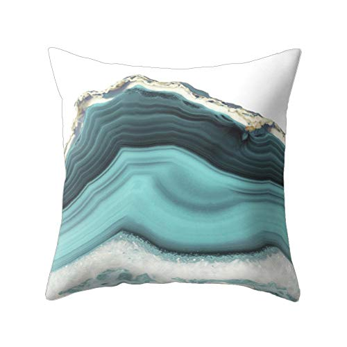 wintefei Modern Living Room Decoration Abstract Square Pillow Case Cushion ()